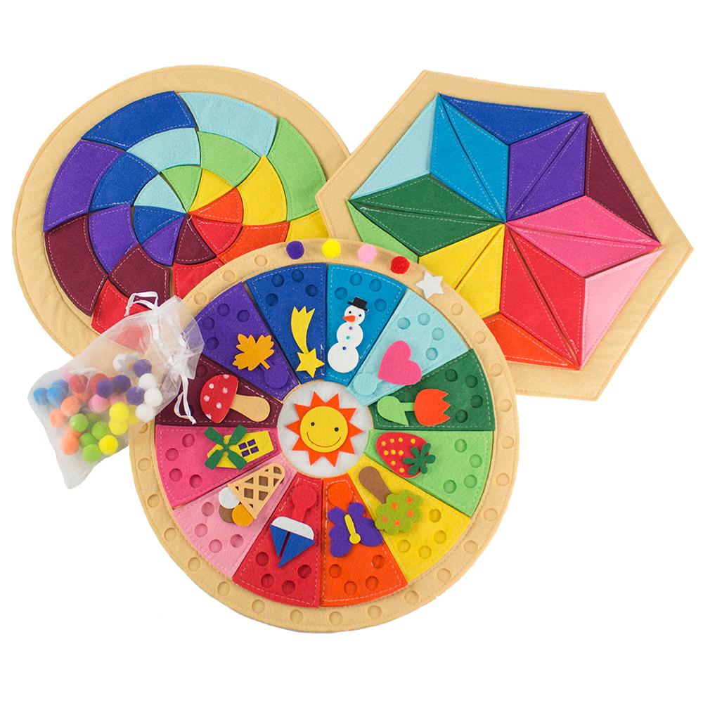 Juegos Montessori Calendario Mandala Y Puzzle La Tienda De